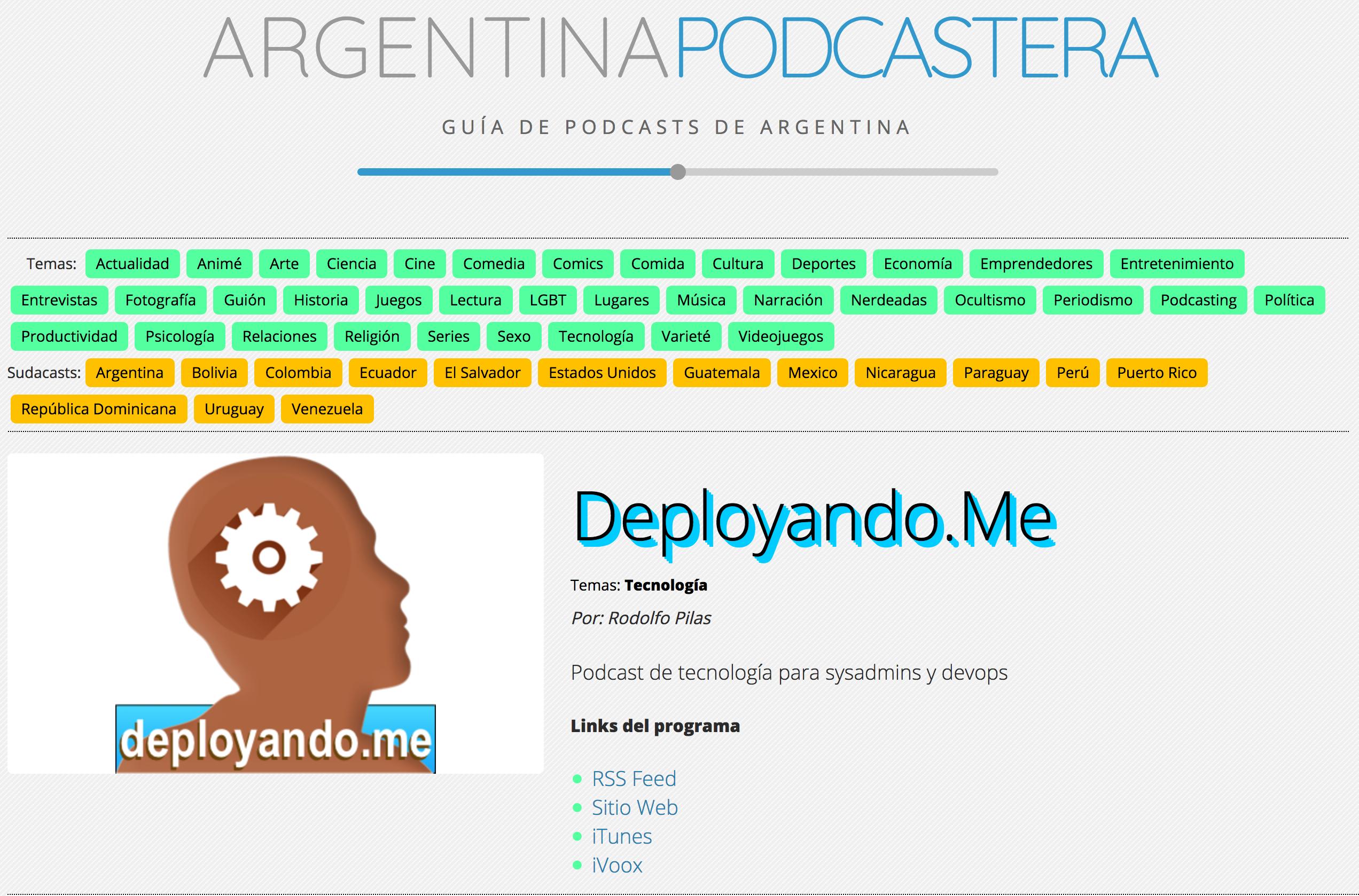 Argentina Podcastera