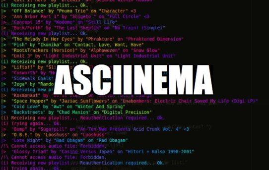22 – asciinema