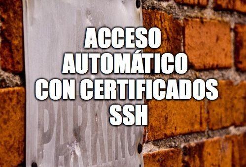 32 – Acceso automático con certificados SSH