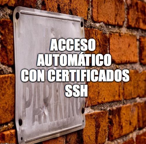 32 - Acceso automático con certificados SSH